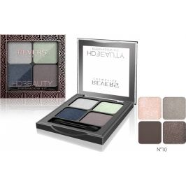Revers HD Beauty Eyeshadow Kit paletka očních stínů 10 4 g