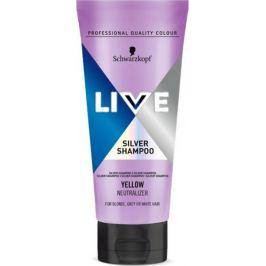 Schwarzkopf Live Silver Shampoo šampon na vlasy 200 ml
