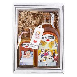 Bohemia Gifts & Cosmetics Domácí štěstí - Argan sprchový gel 250 ml + sůl do koupele 110 g kosmetická sada