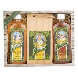 Bohemia Gifts & Cosmetics Pivrnec sprchový gel pro muže 100 ml + šampon na vlasy 100 ml + sůl do koupele 150 g, kosmetická sada
