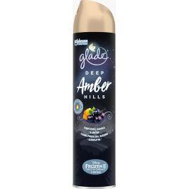 Glade Deep Amber Hills s vůní černého rybízu, kadidla a jantaru osvěžovač vzduchu sprej 300 ml