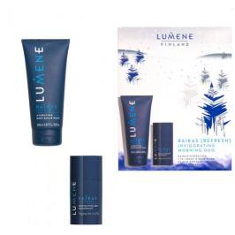 Lumene Raikas Hydrating 2v1 hydratační šampon a mycí gel pro muže 200 ml + deodorant stick pro muže 70 g, kosmetická sada