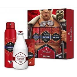 Old Spice Captain sprchový gel 50 ml + deodorant sprej 150 ml + voda po holení 100 ml kosmetická sada
