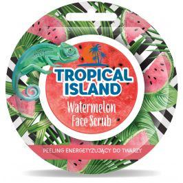 Marion Tropical Island Watermelon - Vodní meloun pleťový peeling 8 g