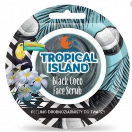 Marion Tropical Island Black Coco - Černý kokos exfoliační pleťový peeling 8 g