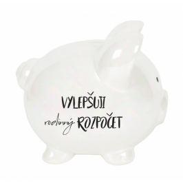 Albi Pokladnička prasátko velké perleťové Rodinný rozpočet 13 cm