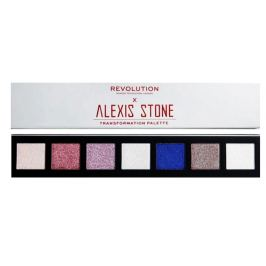 Makeup Revolution Alexis Stone The Transformation paletka očních stínů 7 x 1,2 g