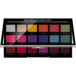 Makeup Revolution Pro Regeneration paletka očních stínů Trends Mischief Mattes 18 x 0,8 g