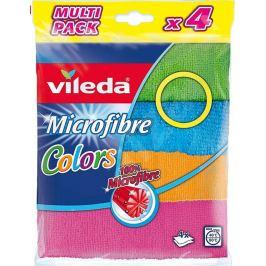 Vileda Microfibre Colors univerzální mikrohadřík 30 x 30 cm 4 kusy