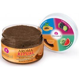 Dermacol Aroma Ritual Belgická čokoláda harmonizující tělový peeling 200 g