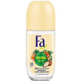 Fa Brazilian Vibes Amazonia Spirit kuličkový antiperspirant deodorant roll-on pro ženy 50 ml