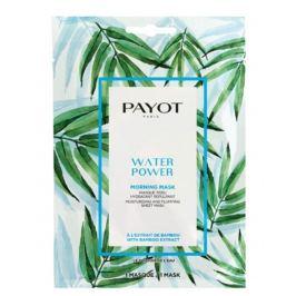 Payot Morning Masque Water Power Hydratační výživná látková maska 15 kusů x 19 ml