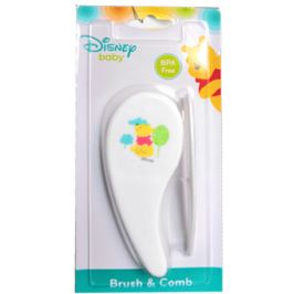 Disney Baby Medvídek Pú Kartáč a hřeběn na vlasy Set