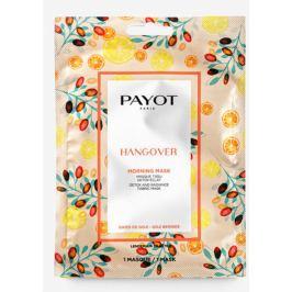 Payot Morning Masque Hangover Detoxikační rozjasňující látková maska 1 kus, 19 ml
