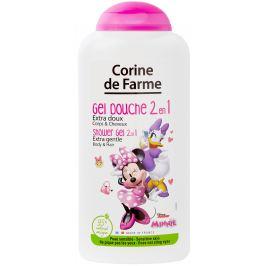 Corine de Farme Disney Minnie Mouse 2v1 šampon na vlasy a sprchový gel pro děti 250 ml