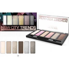 Revers New City Trends paletka očních stínů 06 9 g