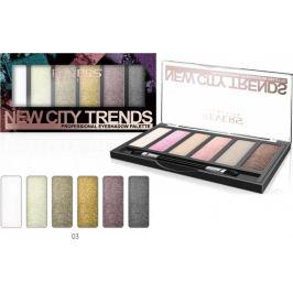 Revers New City Trends paletka očních stínů 03 9 g