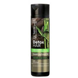 Dr. Santé Detox Hair šampon na vlasy s aktivním uhlím z bambusu 250 ml