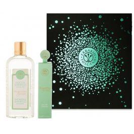 Erbario Toscano Toskánské jaro sprchový gel 125 ml + parfémovaná voda pro ženy 7,5 ml, luxusní kosmetická sada