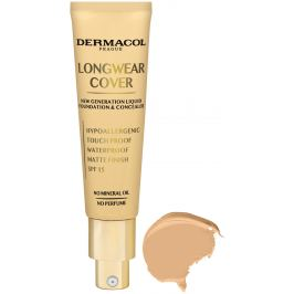 Dermacol Longwear Cover dlouhotrvající krycí make-up 03 Beige 30 ml