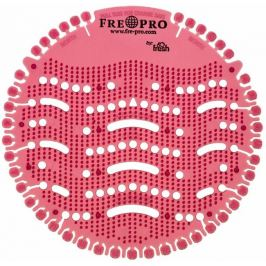 Fre Pro Wave Jablko Skořice vonné sítko do pisoáru tmavě červené 19 x 20,3 x 1,9 cm 52 g