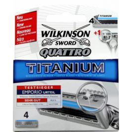Wilkinson Sword Quattro Titanium Precision náhradní hlavice 4 kusy