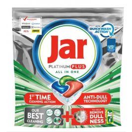 Jar Platinum Plus All in One Quickwash Action Cool Blue kapsle do myčky nádobí 37 kusů