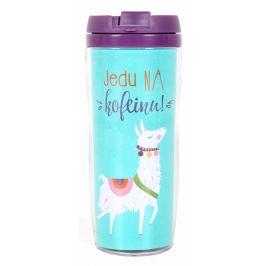 Albi Dárkový termohrnek Jedu na kofeinu! 300 ml