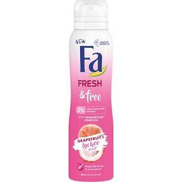 Fa Fresh & Free Grapefruit & Lychee 48h deodorant sprej 150 ml