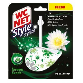 WC Net Crystal Style Green Exotic závěs 36,5 g