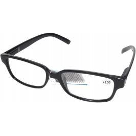Berkeley Čtecí dioptrické brýle +2,50 plastové černé 1 kus MC2125
