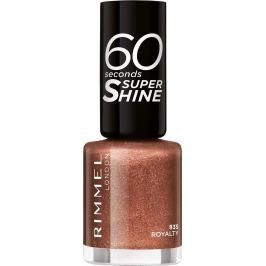 Rimmel London 60 Seconds Super Shine Nail Polish lak na nehty 835 Royalty 8 ml