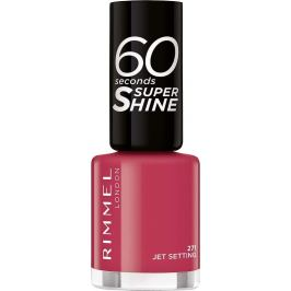 Rimmel London 60 Seconds Super Shine Nail Polish lak na nehty 271 Jet Setting 8 ml