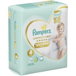 Pampers Premium Care velikost 4, 9-15 kg plenkové kalhotky 22 kusů