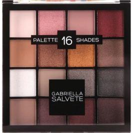 Gabriella Salvete Eyeshadow Palette paletka 16 očních stínů 02 Pink 20,8 g