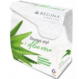 Regina Aloe Vera, denní krém 50 ml + Krém na ruce 60 ml + Micelární voda 250 ml, kosmetická sada