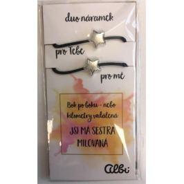 Albi Dárkový šperk duo náramky Bok po boku 2 kusy
