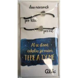 Albi Dárkový šperk duo náramky Ať se stane cokoliv 2 kusy