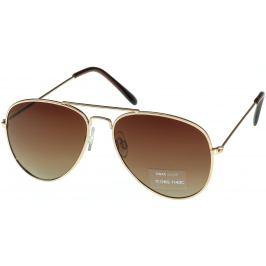 Nac New Age Sluneční brýle zlaté A-Z ICONS 1140C