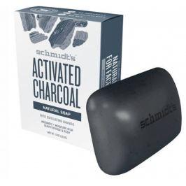 Schmidt Aktivní uhlí + hořčík přírodní tuhé toaletní mýdlo hydratující, bez parabenů, ftalátů a umělých aromat 142 g