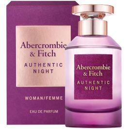 Abercrombie & Fitch Authentic Night Woman parfémovaná voda pro ženy 50 ml