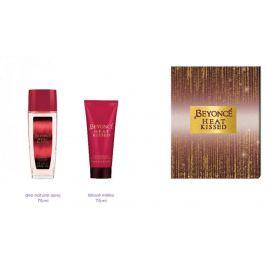 Beyoncé Heat Kissed parfémovaný deodorant sklo pro ženy 75 ml + tělové mléko 75 ml, kosmetická sada