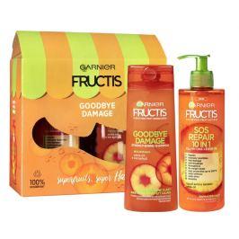Garnier Fructis Goodbye Damage šampon na vlasy 250 ml + bezoplachová péče 400 ml
