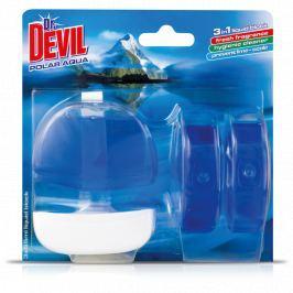 Dr. Devil Polar Aqua 3v1 Wc tekutý závěs 3 x 55 ml