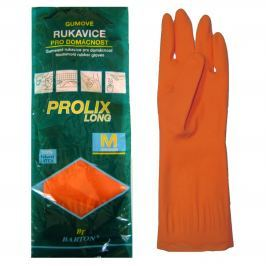 Bartoň Prolix Rukavice gumové ochranné velikost M 1 pár