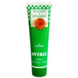 Alpa Aviril Bylinný s vitamíny krém na ruce 100 ml