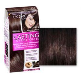 Loreal Paris Casting Creme Gloss barva na vlasy 415 ledový kaštan
