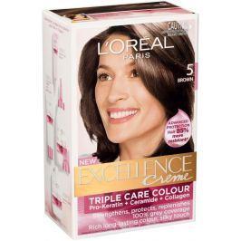 Loreal Paris Excellence Creme barva na vlasy 500 Hnědá světlá