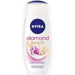 Nivea Diamond Touch sprchový gel s pečujícím olejem 250 ml