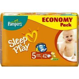 Pampers Sleep & Play 5 Junior 11 - 25 kg plenkové kalhotky 42 kusů